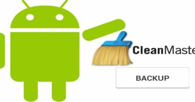 Cara Backup Aplikasi Android Dengan Clean Master
